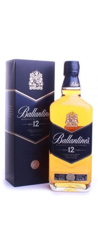 Виски Ballantine's (Баллантайнс) 12 year old 40% 0,7л