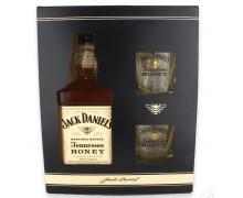 Виски Jack Daniel's Tennessee Honey с бокалами 0,7л