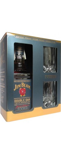 Виски Jim Beam Double Oak (Джим Бим Дабл Оук) 0.7л