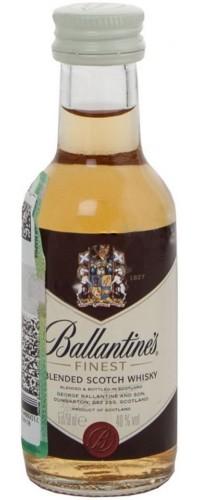 Виски Ballantine's (Баллантайнс) Finest 0,05л