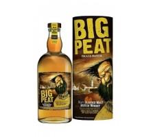 Виски Big Peat Blend 46% 0,7л в тубусе