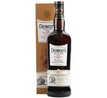 Виски Дьюарс 12-летний в подарочной коробке 0,7л