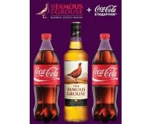 Виски Famous Grouse 0,7л + Сoca-Cola 1 л х 2 шт