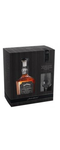 Виски Jack Daniel's Single Barrel с бокалом для дегустации 45% 0,7л