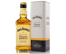 Виски Jack Daniel's Tennessee Honey в мет. коробке 35% 0,7л