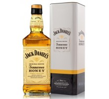 Виски Jack Daniel's Tennessee Honey в мет. коробке 35% 0,7л