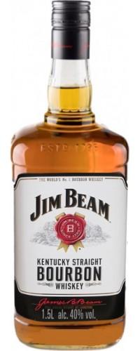 Виски Jim Beam (Джим Бим) 1,5л