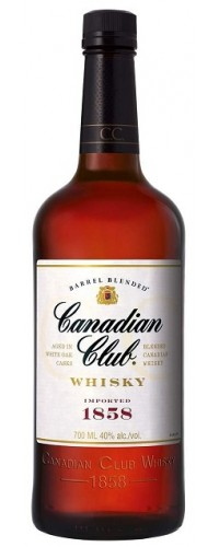 Виски Canadian Club (Канадиан Клаб) 0,7л