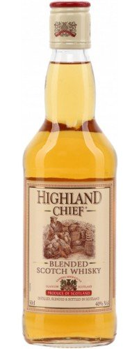 Виски Highland Chief Хайленд Чиф 40% 0,5л (5038342192010)
