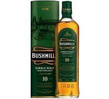 Виски Bushmills Single Malt 10 yo 40% 0,7л