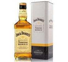 Виски Jack Daniel's Tennessee Honey в мет. коробке 35% 0.7 л (5099873213551)