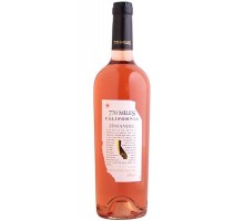 Вино 770 Miles Zinfandel розовое сухое 0.75л