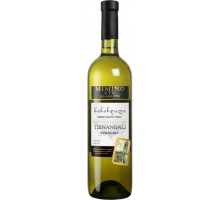Вино белое сухое Mimino Цинандали 0,75л