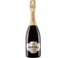 Вино игристое Одесса белое полусладкое 0,75л