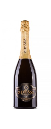 Вино игристое Одесса белое брют 0,75л