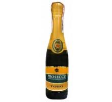 Вино игристое Toso Prosecco Spumante Extra Dry DOC белое сухое 0,2л