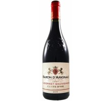 "Вино ""Барон д'Ариньяк"" Каберне Совиньон красное сухое 0,75л"