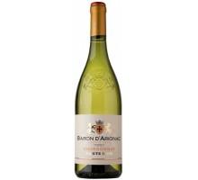 "Вино ""Барон д'Ариньяк"" Шардоне белое сухое 0,75л"