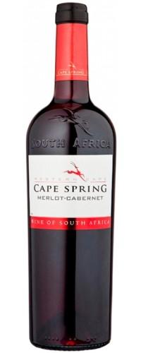 Вино Cape Spring Merlot-Cabernet красное сухое 0.75 л