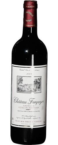 Вино Шато Фомпьер (Chateau Fompeyre) 2009 год 0,75л