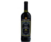 Вино красное сухое NERO D'AVOLA I.G.T. 0,75л