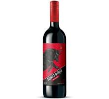 Вино красное сухое TORO ROJO 0,75л