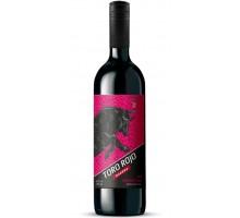 Вино красное полусладкое TORO ROJO 0,75л