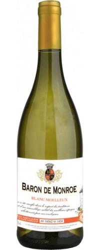 Вино Baron de Monroe (Барон де Монро) белое полусладкое 0,75л