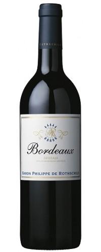Вино Bordeaux Rouge (Бордо Руж) красное сухое 0,75л