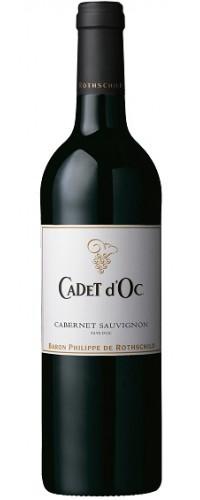 Вино CADET d`Oc Cabernet Sauvignon (Каде д`Ок Каберне Совиньон) красное сухое 0,75л