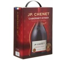 Вино красное сухое JP Chenet Cabernet-Syrah бег 1,5 л