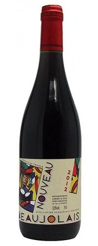 Вино Jean Loron Beaujolais Nouveau (Жан Лорон Божоле Нуво) красное сухое 0,75л