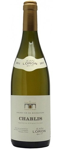 Вино Jean Loron Chablis (Жан Лорон Шабли) белое сухое 0,75л