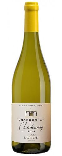 Вино Jean Loron Chardonnay de Chardonnay (Жан Лорон Шардоне) белое сухое 0,75л