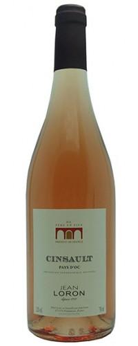 Вино Jean Loron Cinsaut rose (Жан Лорон Сенсо Розе) розовое сухое 0,75л