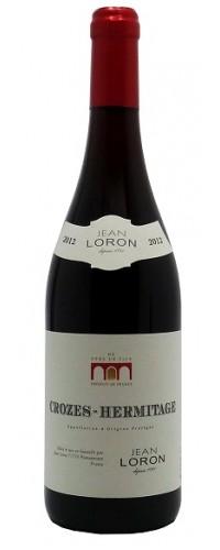 Вино Jean Loron Crozes Hermitage (Жан Лорон Кроз Эрмитаж) красное сухое 0,75л