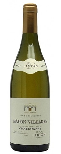 Вино Jean Loron Macon Villages Blanc (Жан Лорон Маконе Вилляж Блан) белое сухое 0,75л