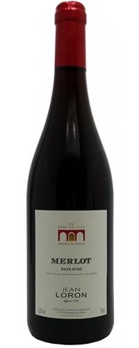 Вино Jean Loron Merlot (Жан Лорон Мерло) красное сухое 0,75л