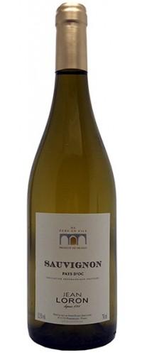 Вино Jean Loron Sauvignon blanc (Жан Лорон Совиньон Блан) белое сухое 0,75л