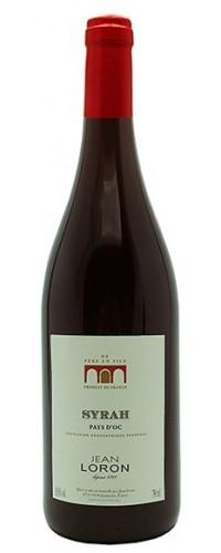 Вино Jean Loron Syrah (Жан Лорон Сира) красное сухое 0,75л