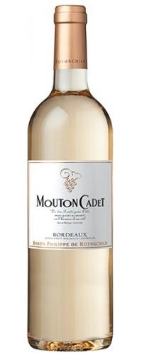 Вино Mouton Cadet Bordeaux Blanc (Мутон Каде Бордо Блан) белое сухое 0,75л