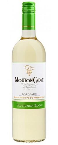 Вино Mouton Cadet Sauvignon Blanc белое сухое 0,75л