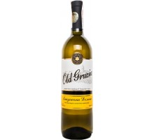 Вино белое полусладкое Old Gruzia Алазанская Долина 0,75л