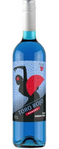 Вино голубое полусухое TORO ROJO (Торо Рохо) 0,75л