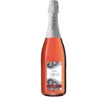 Вино игристое Cava Mirame розовое брют 0,75л