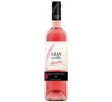Вино розовое сухое Gran Castillo Bobal-Cabernet Rose 0,75л