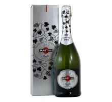 Вино игристое Martini Asti 0,75л в подарочной упаковке