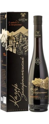 Вино Chateau Chizay Кагор Закарпатский Авторский красное десертное 16% 0.5 л
