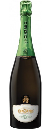 Вино игристое Cinzano Pinot Chardonnay (Пино Шардоне) 11.5% 0,75л