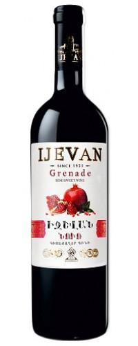 Вино красное полусладкое jevan (Иджеван) Гранат